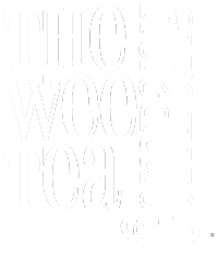 Wee Tea Company Logo in White Large