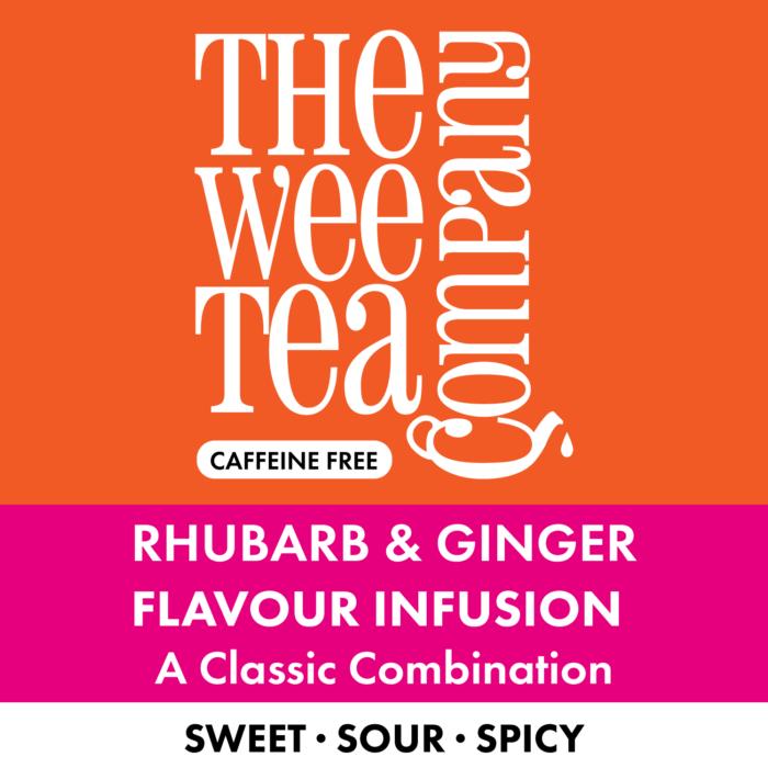 Rhubarb & Ginger Tea