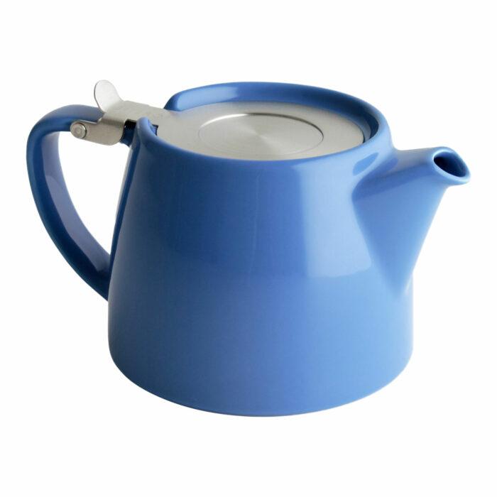 Blue Tea Pot for Infusing Loose Leaf Tea