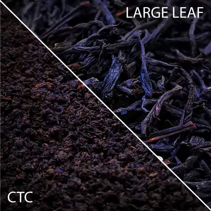 Breakfast Tea Options CTC or Large Leaf