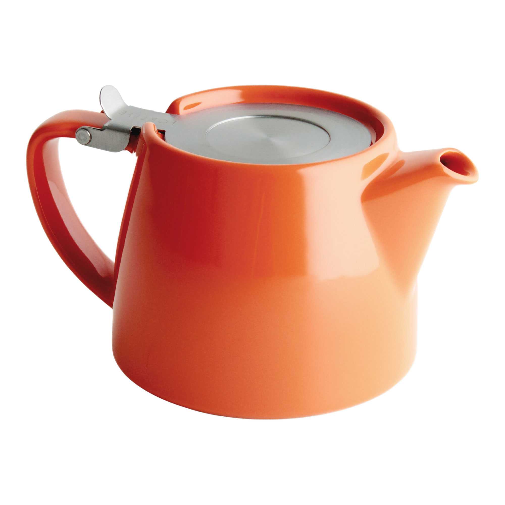 Carrot Tea Pot for Infusing Loose Leaf Tea