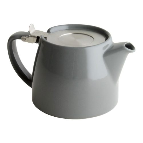 Grey Tea Pot for Infusing Loose Leaf Tea