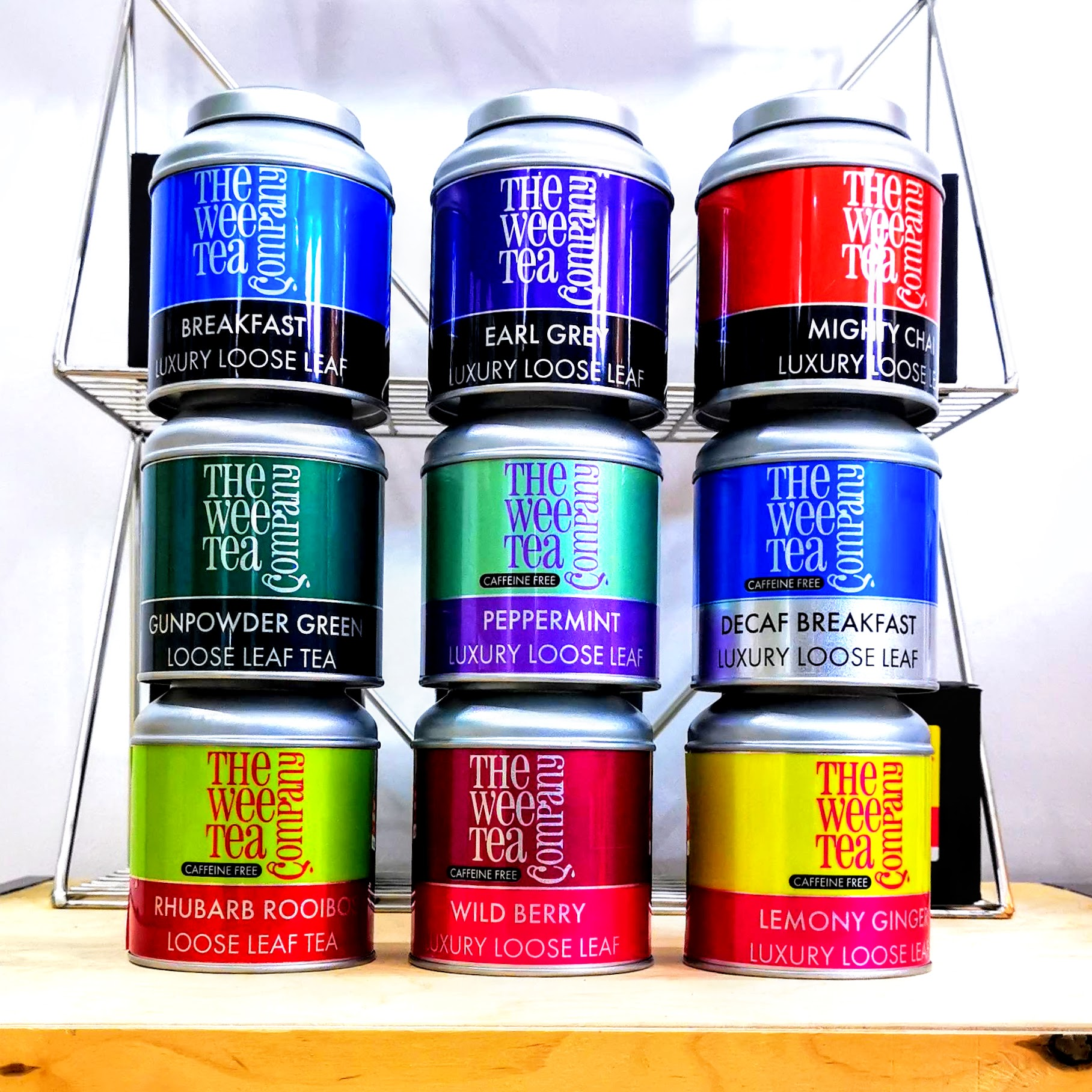 Wholesale Tea Starter Kits from The Wee Tea Company