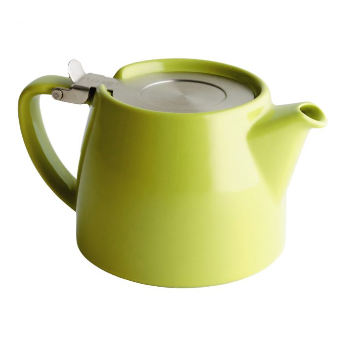 Lime Green Tea Pot for Infusing Loose Leaf Tea