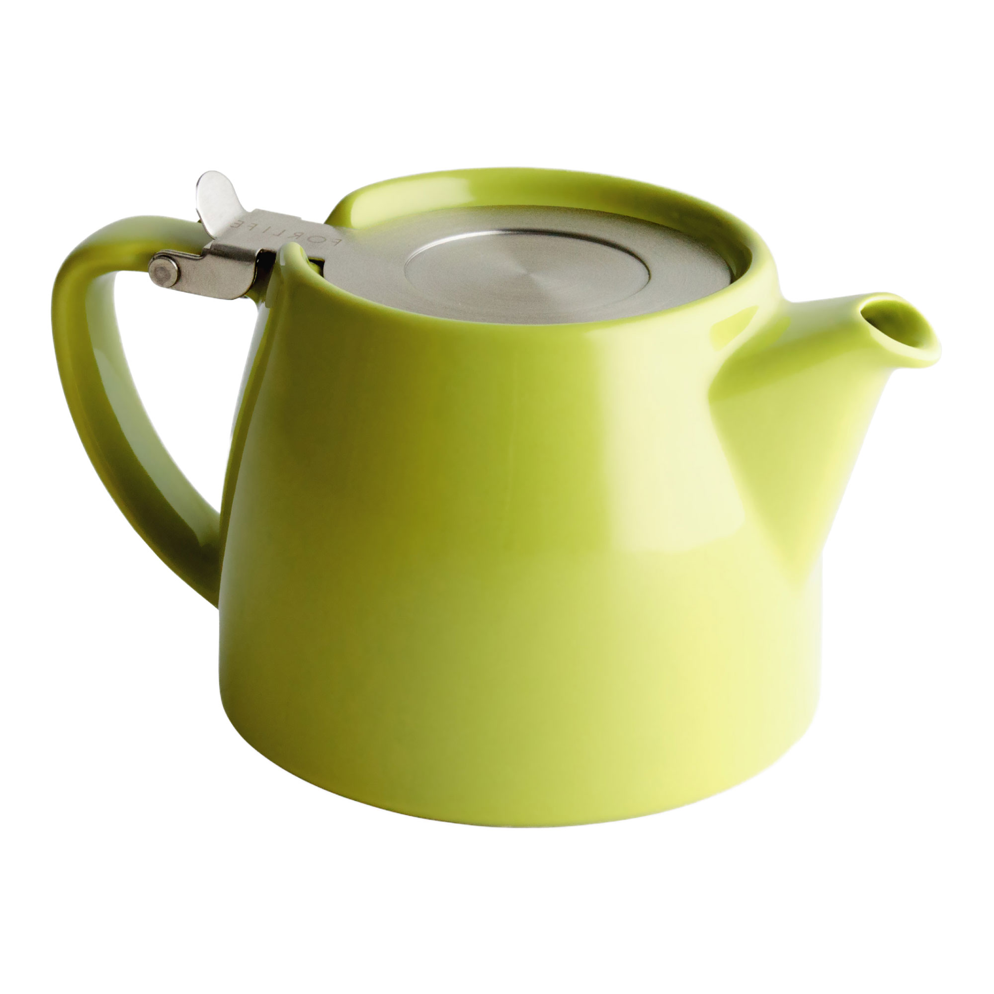 Lime Green Tea Pot for Infusing Loose Leaf Tea