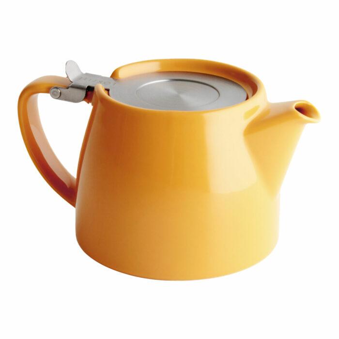 Mandarin Tea Pot for Infusing Loose Leaf Tea