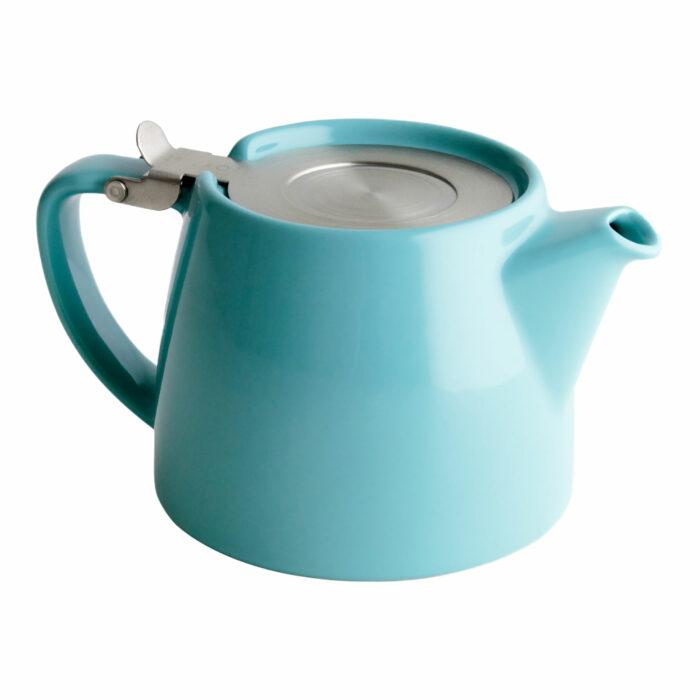 Turquoise Tea Pot for Infusing Loose Leaf Tea