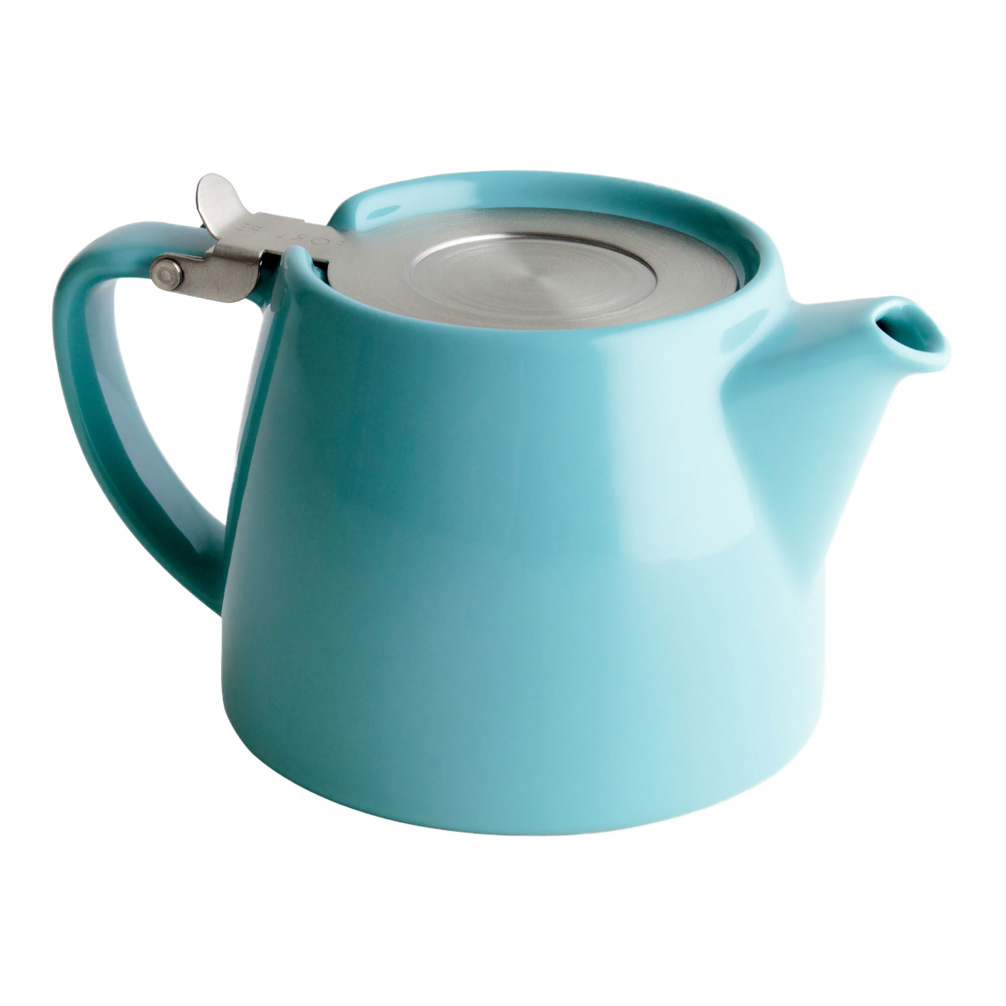 Turquoise Tea Pot for Infusing Loose Leaf Tea