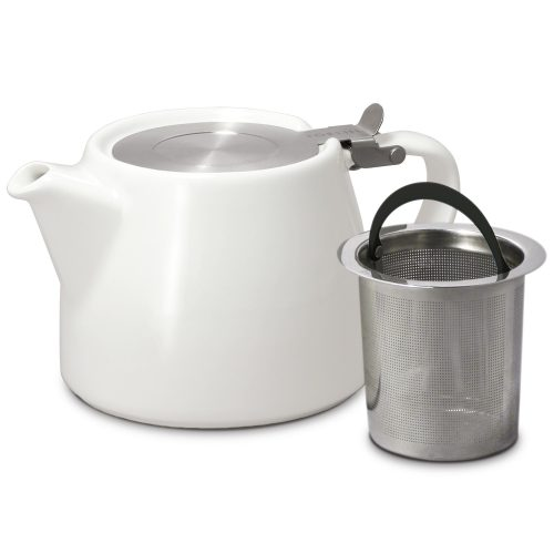 For life Stump Loose Leaf Tea Pot with stainless steel infuser.
