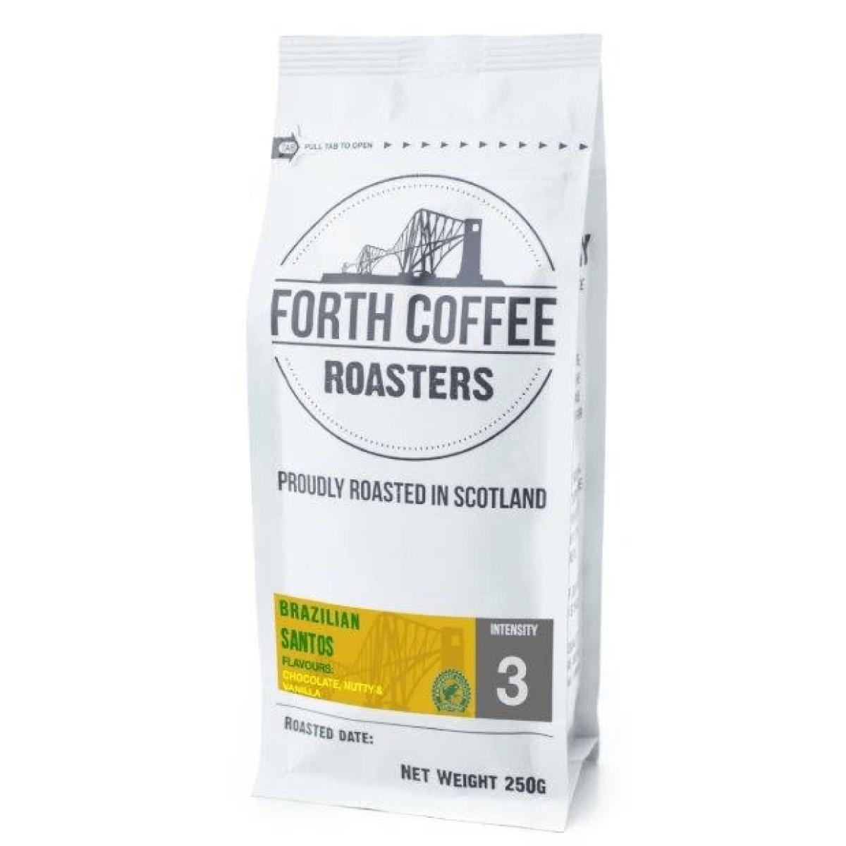 Forth Coffee - Brazilian Santos Coffee Roasted in Scotland
