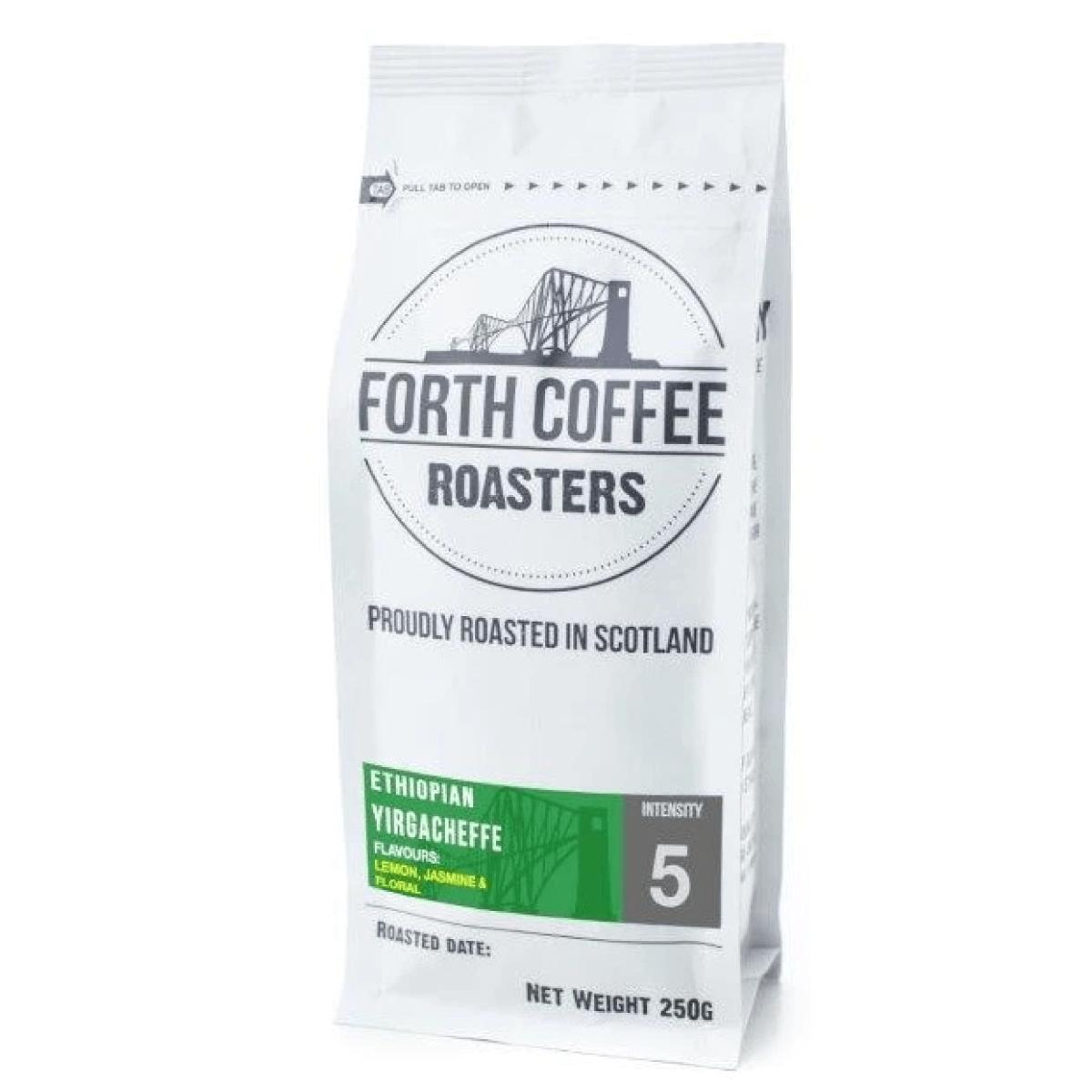 Forth Coffee Ethiopian Yirgacheffe Coffee Roasted in Scotland