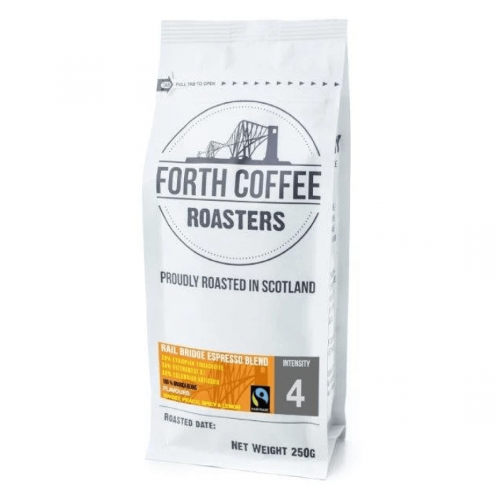 Forth Coffee Rail Bridge Espresso Blend Coffee Roasted in Scotland