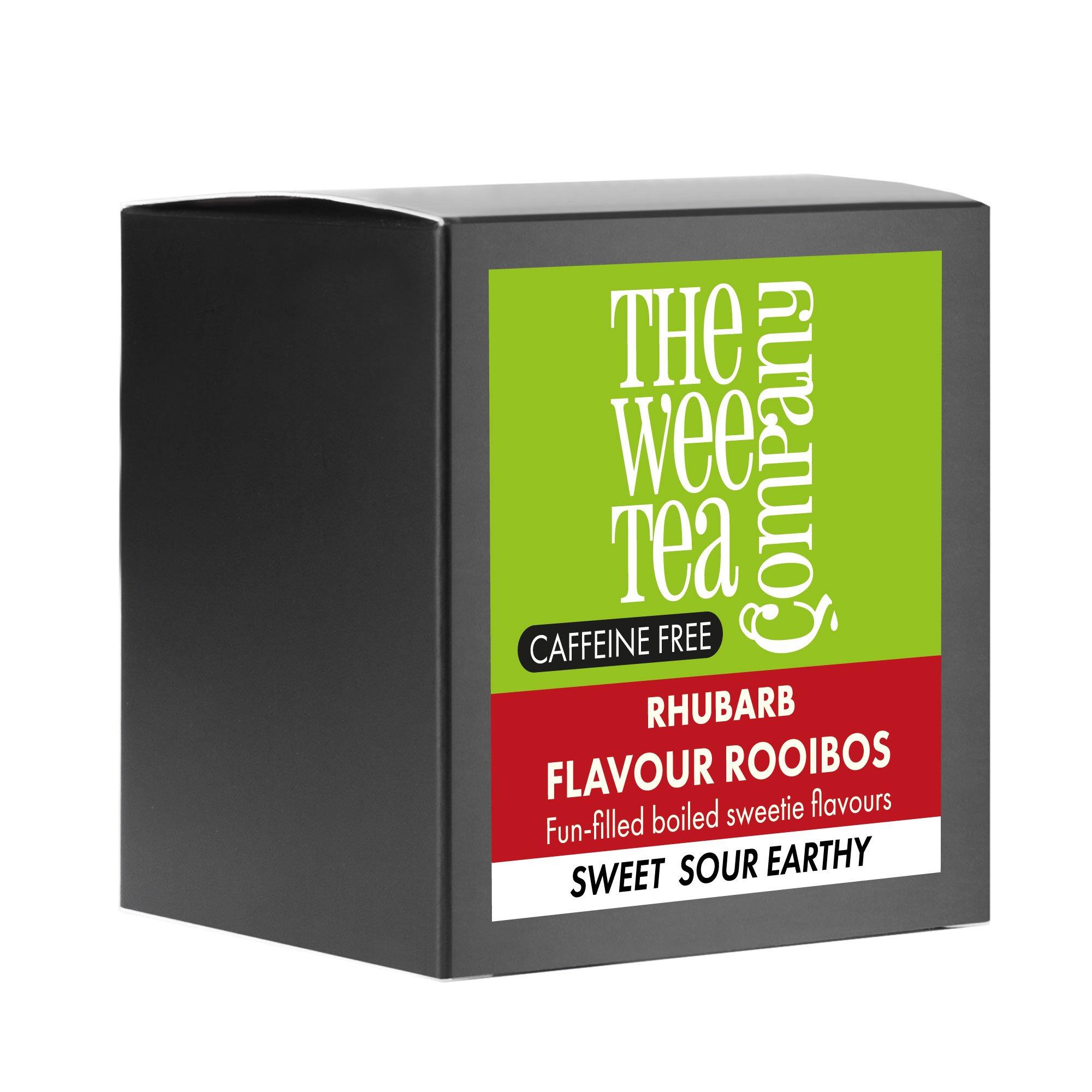 Rhubarb Rooibos Tea