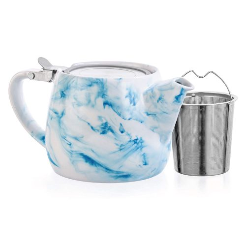 Charon Loose Leaf Teapot - Blue