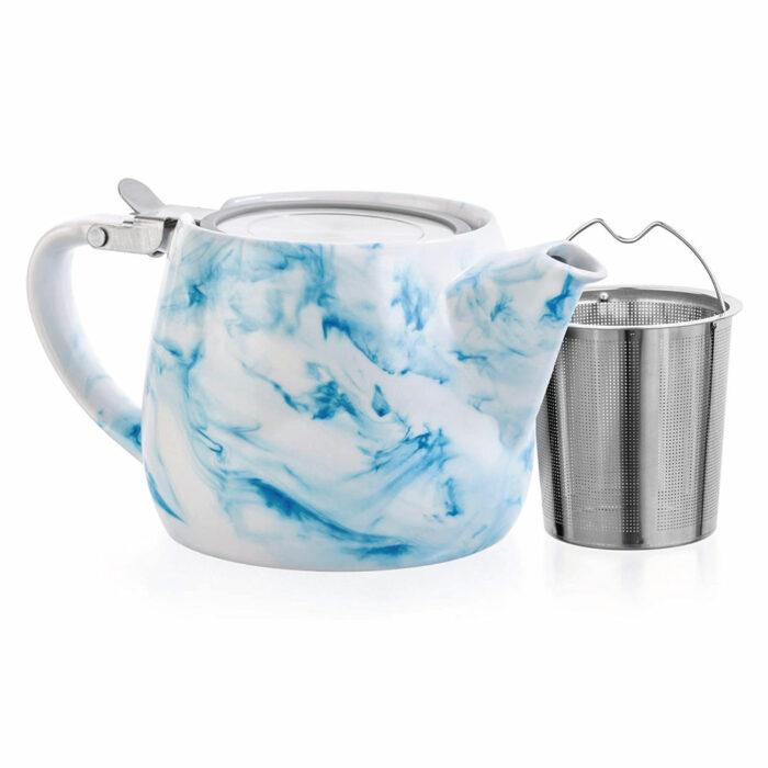 Charon Loose Leaf Teapot - Blue