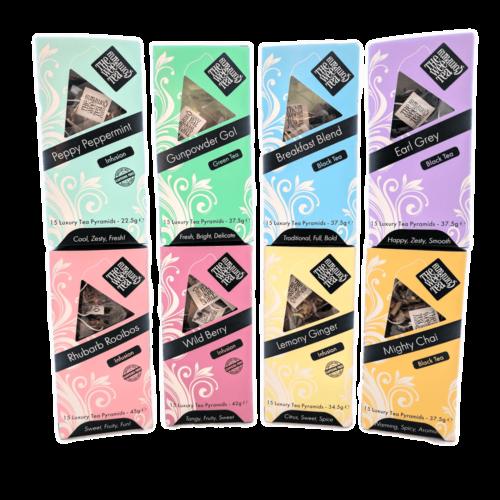 Pyramid Tea bags Biodegradable Tea Bags