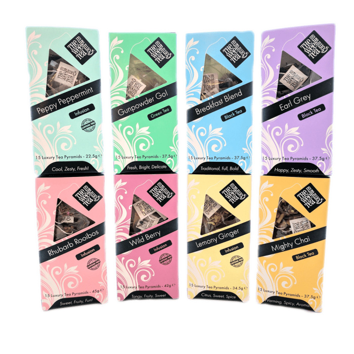 Pyramid Tea bags Biodegradable Tea Bags