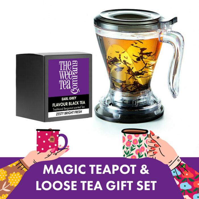 Magic Teapot Gift Set and Loose Leaf Tea
