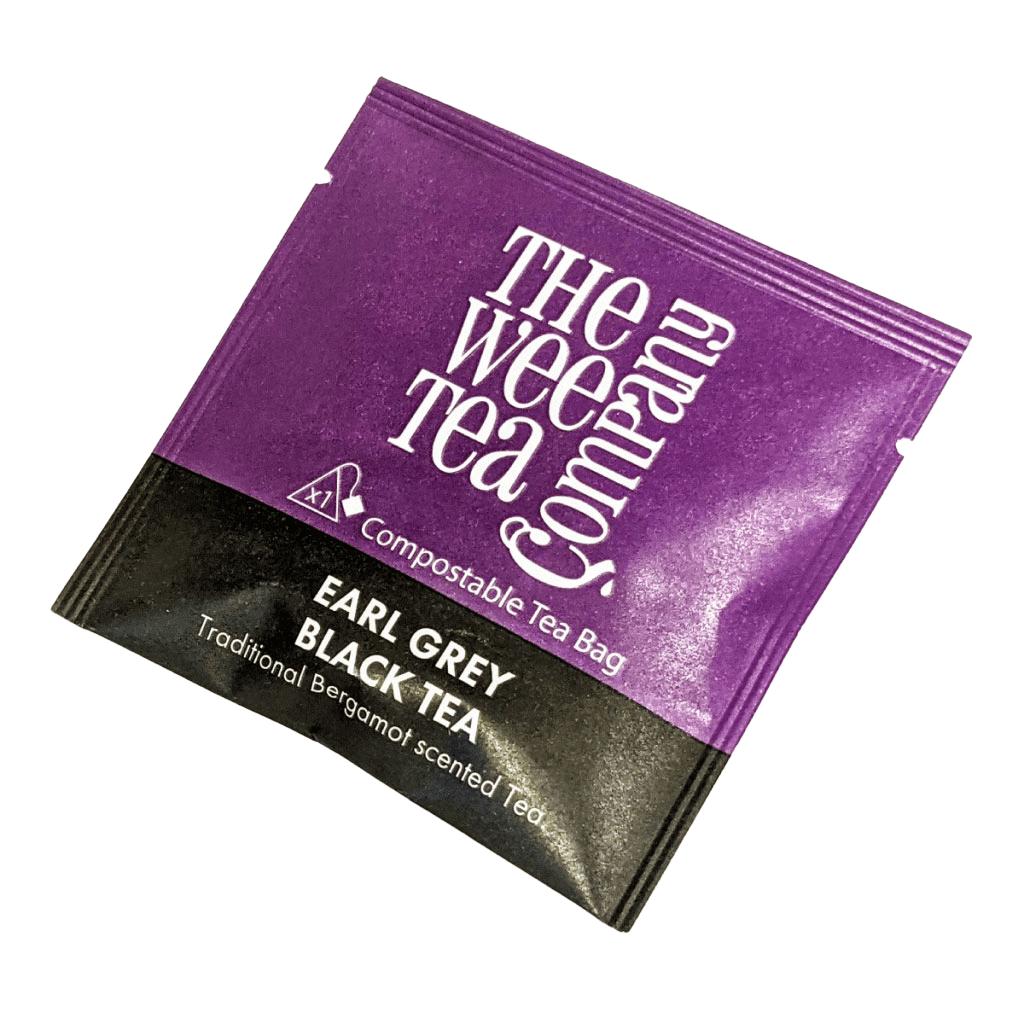 Individual Wrapped Earl Grey Tea bags