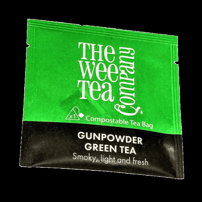 Individual Wrapped Gunpowder Green Tea Bags