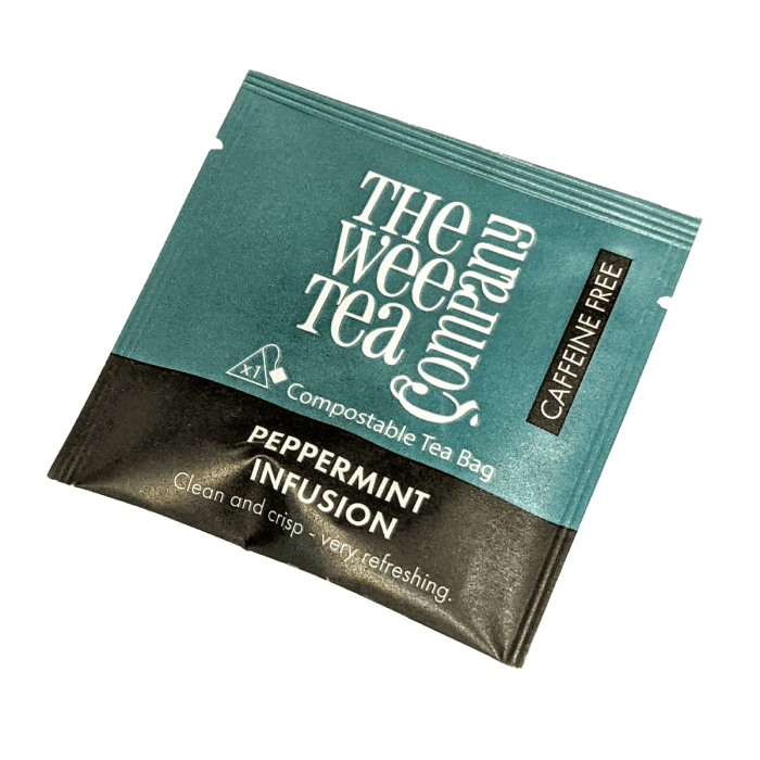 Individual Wrapped Peppermint Tea Bags