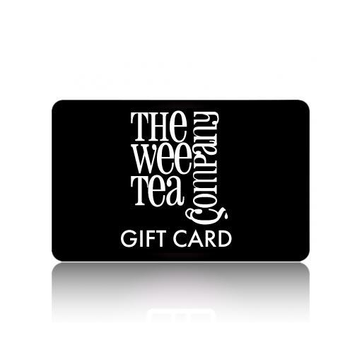 Tea Gift Voucher Card