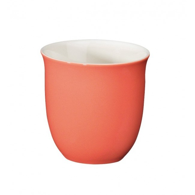 Japanese Tea Cups Coral